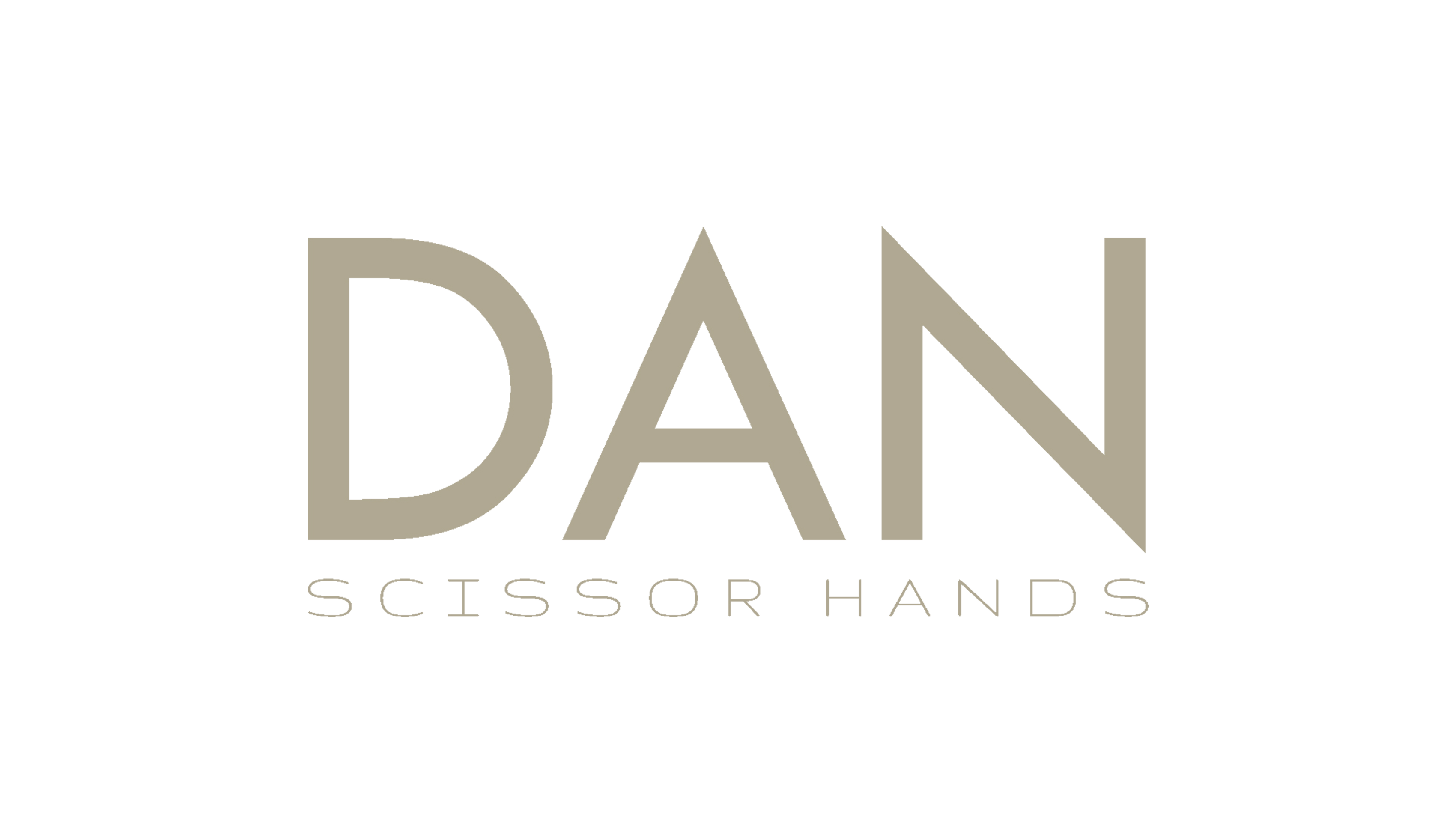 logo says dan scissor hands